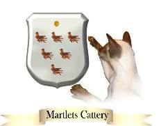 Martlets Cattery Logo